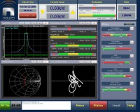 advanced user interface / AUI - both remote control and built-in instrumentation